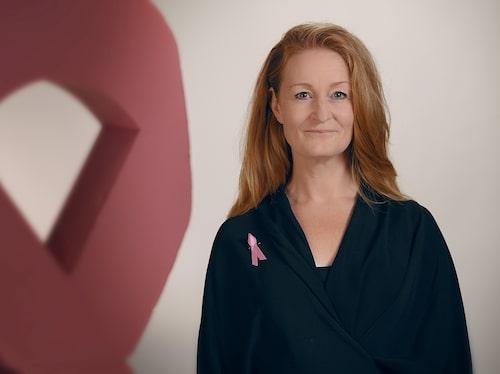 – Nu vill jag hjälpa andra, säger Anna, ny ambassadör för Bröstcanceförbundet.