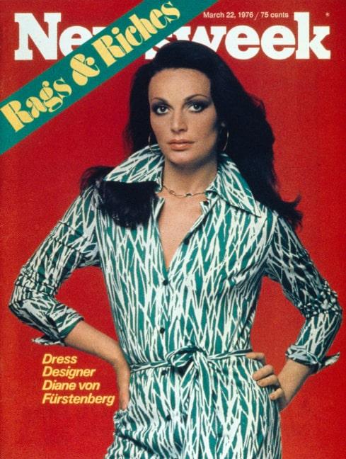 På omslaget på Newsweek 1976.