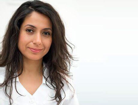 Negin Aghili, hudterapeut på Althea Hudvård & Livsstil i Stockholm.