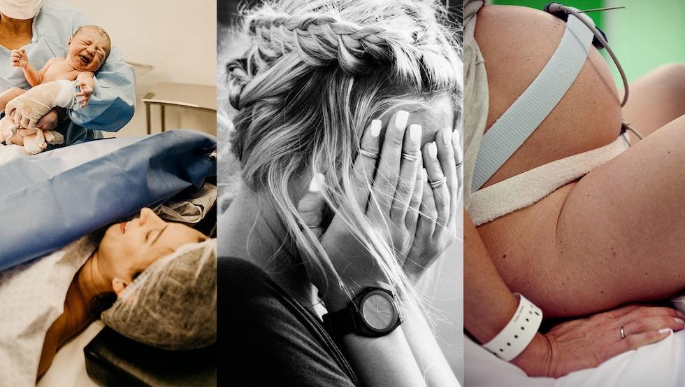Visst är det roligt att läsa om alla knasiga saker andra kvinnor gjort under förlossningen?!