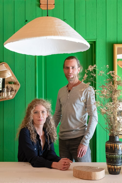 Anne Prevot Leygonie och Romain Marque utgör tillsammans designduon Rom&An.