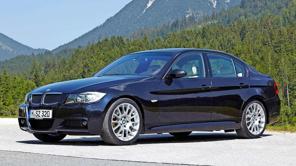 BMW 3-serie med internkod E90.