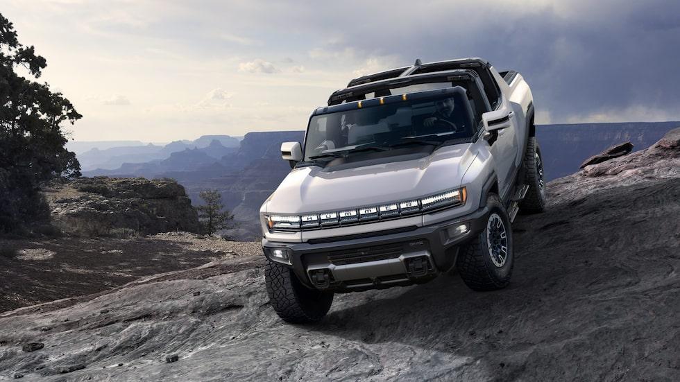 Hummer EV blir GM-koncernens andra eldrivna modell efter Chevrolet Bolt.