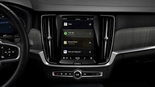 Android Automotive i Volvo V90.
