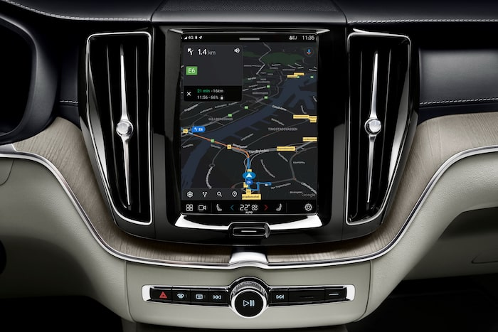 Android Automotive i Volvo XC60.