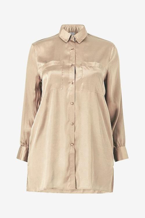 Satinskjorta i plus size från Ellos.
