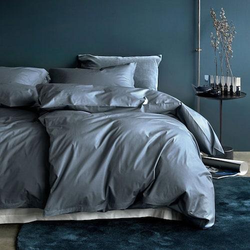 Sängkläder från Høie i unika materialet percale.