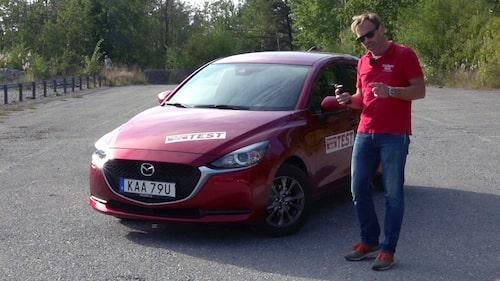 Linus Pröjtz om Mazda 2:s dåliga bromstestresultat och svaret från Mazda Sverige.