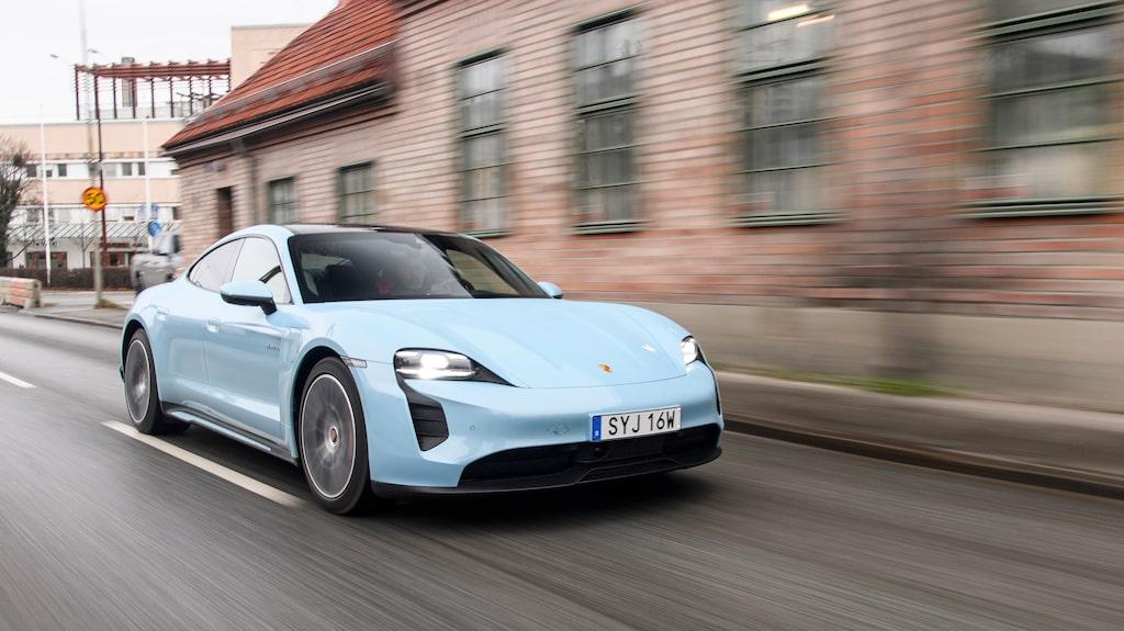 Porsche fick inte misslyckas med Taycan och bilen är därför fullmatad med rätt sorts känslor.