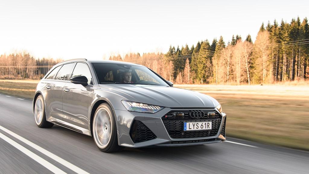 Fullstor kombi som enkelt rastar superbilar? Audi RS 6 Avant är svaret på ickefrågan.