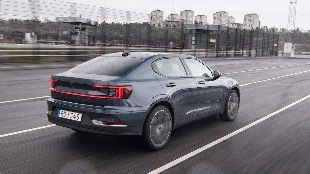 Testbilen har stenhårt sportchassi Performance (+60 000 kr). Skippa helst detta!