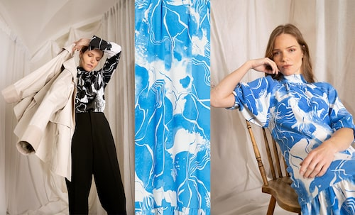 Alla print och mönster är designade hos MQ MARQET.