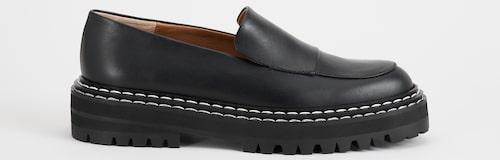 Skinnloafers med kraftig gummisula, ATP Atelier. Klicka på bilden och kom direkt till skorna.