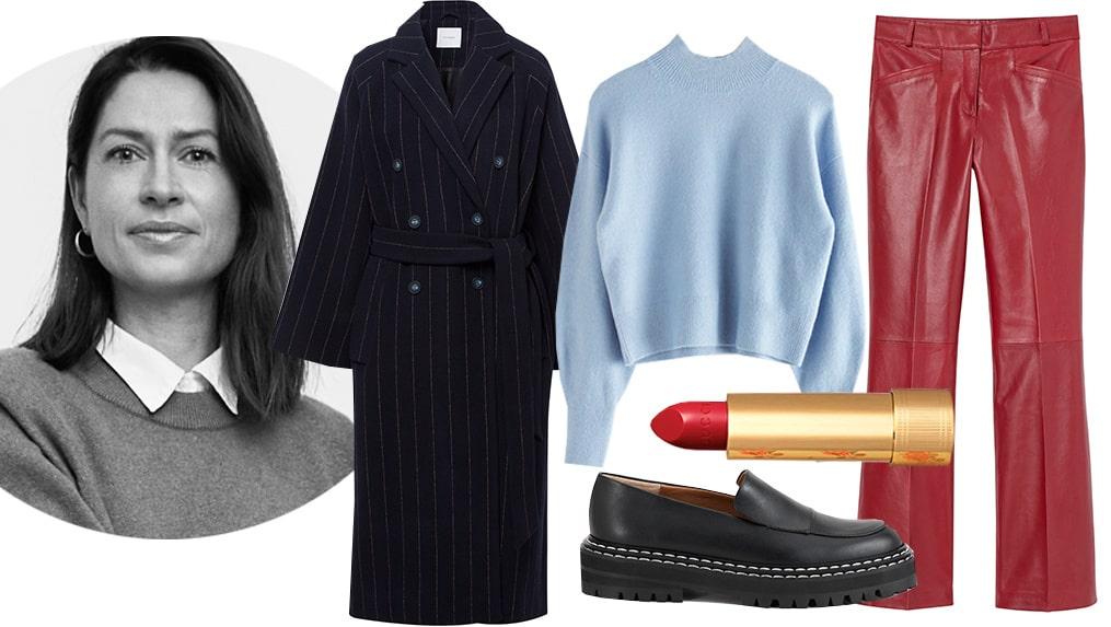 Modechef Lisa Pettersson stylar höstens största trendfärg.