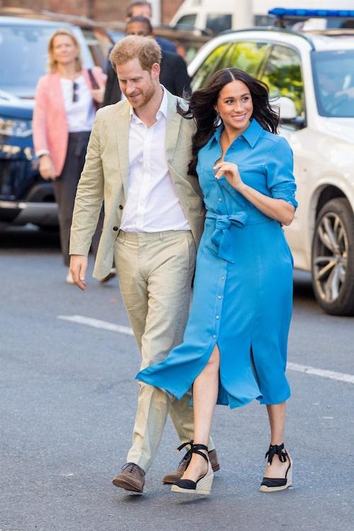 Hemliga paret Harry och Meghan!
