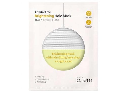 Sheetmask mot pigmentfläckar.