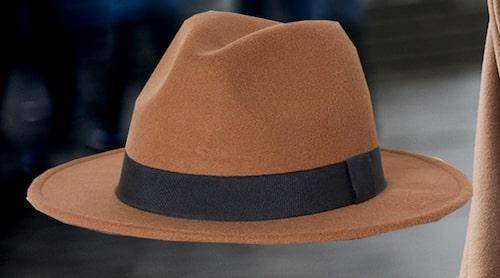 Brun hatt från H&M för dam.
