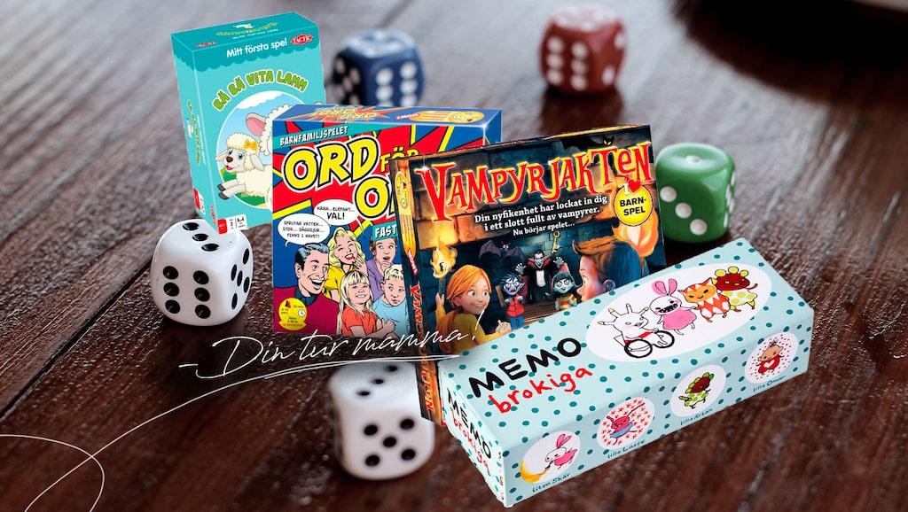 Vi har valt ut sällskapsspelen som roar både barn och vuxna.
