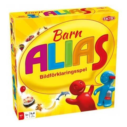 Höj pulsen och stämningen med bildförklaringsspelet Barn Alias!