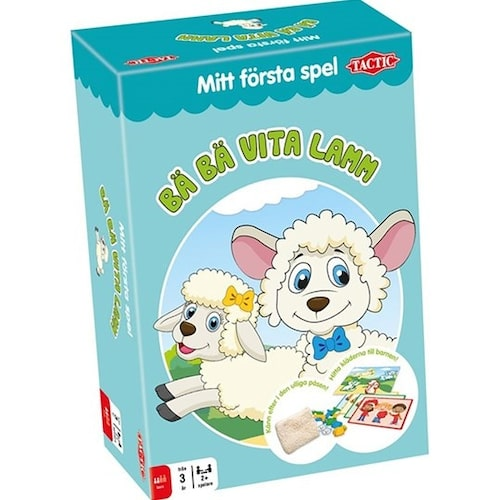 Bä bä vita lamm bjuder på överraskningar.