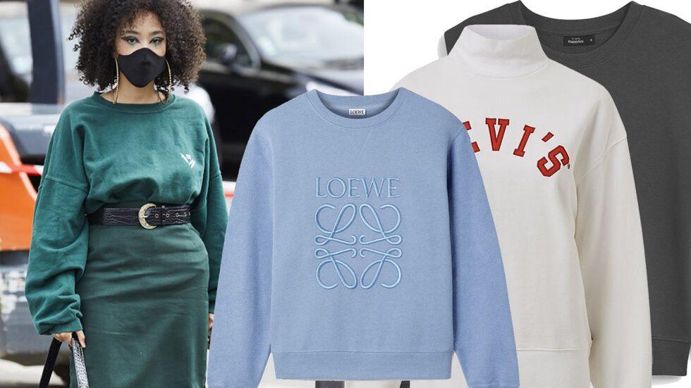 Vårtrend 2021: sweatshirts!