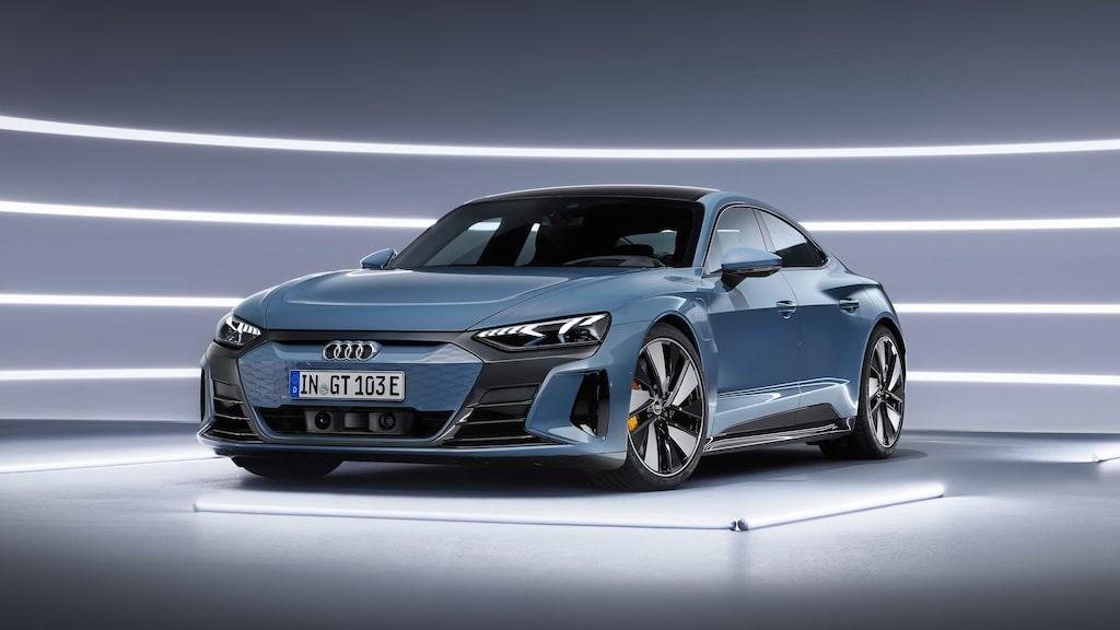 Audi e-tron GT quattro.