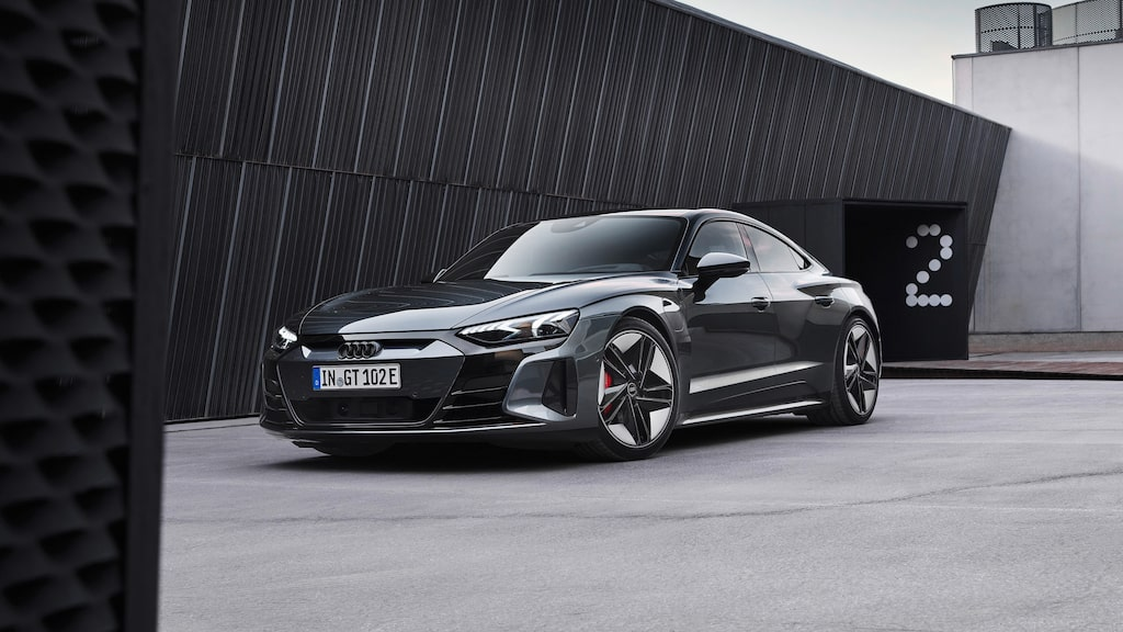 Audi RS e-tron GT.