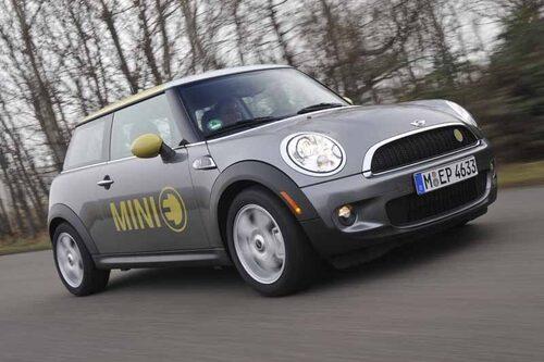 Mini E från 2009.