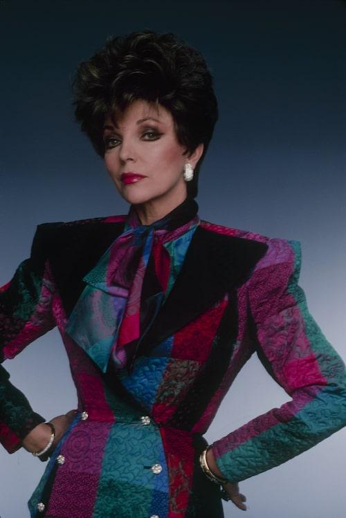 Joan Collins som Alexis Carrington i Dynastin.