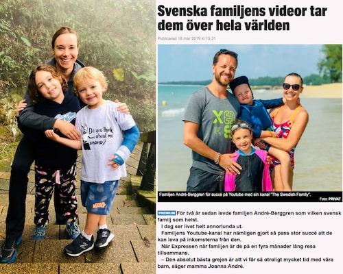 """""""The Swedish family"""" åker jorden runt och följs av miljontals tittare."""
