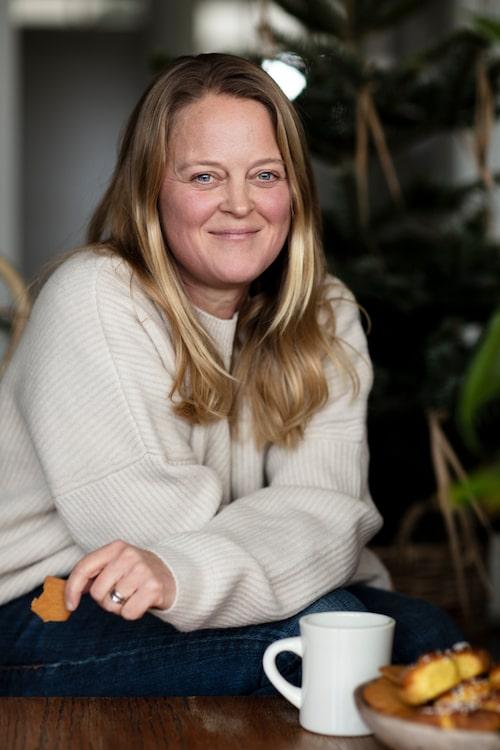 Anna och hennes familj ser fram emot att öppna Öarnas lanthandel på Dalarö under våren.