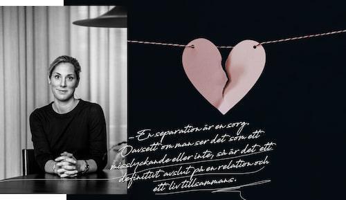 Charlotte Ljung har varit skild i tio år och har nu skapat den tjänst hon själv saknade vid skilsmässan.