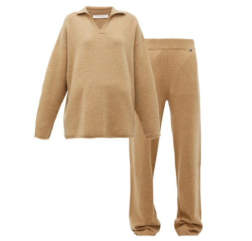 Loungewear i kashmir från Extreme cashmere.
