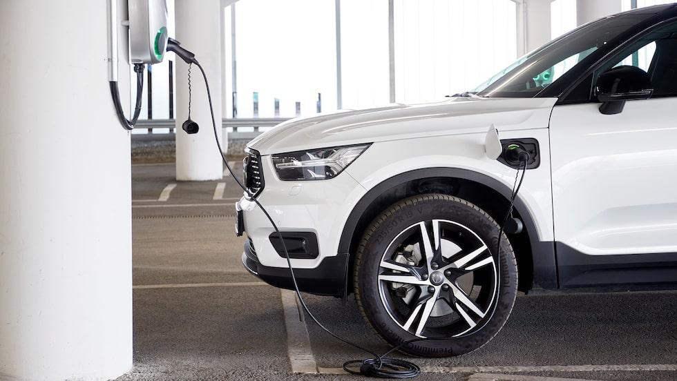 I Europa stod laddbara bilar för 40 procent av Volvo Cars försäljning i maj.