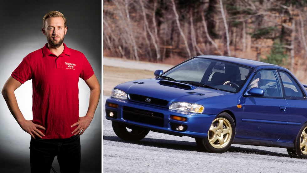 Första generationen Subaru Impreza har satt många pojkhjärtan i brand och finns i en lång rad utföranden. Här i den ultrasällsynta 2,5RS-versionen.
