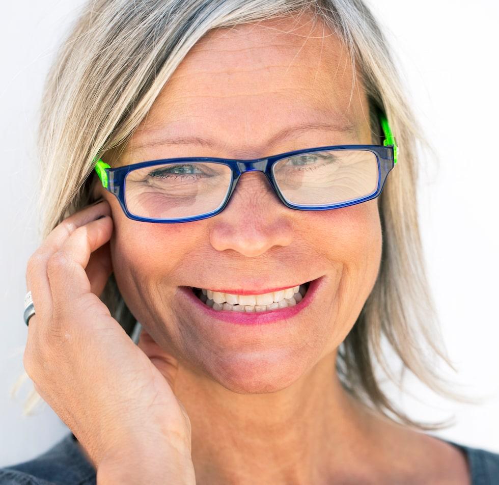 Irene Andersson är kroppscoach och undervisar i övningar som stärker den sexuella energin.