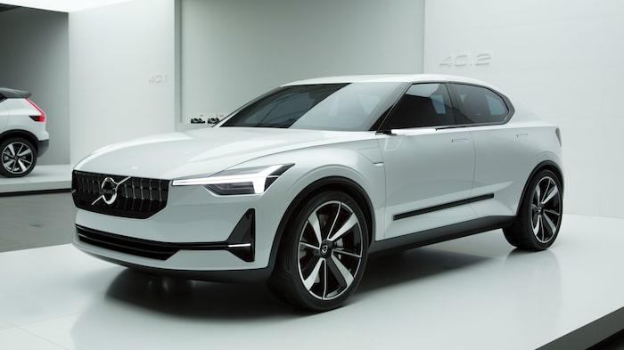 Volvo Concept 40.2 blev Polestar 2 och ska nu även bli en ny Volvo-modell.