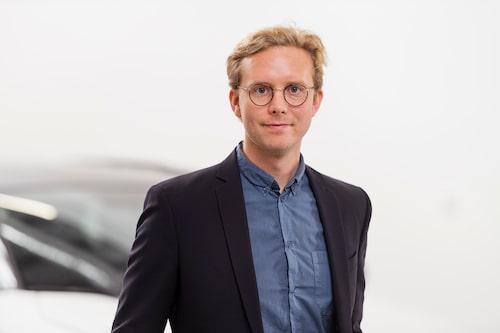 Erik Gustafsson is PR manager at Toyota Sweden.