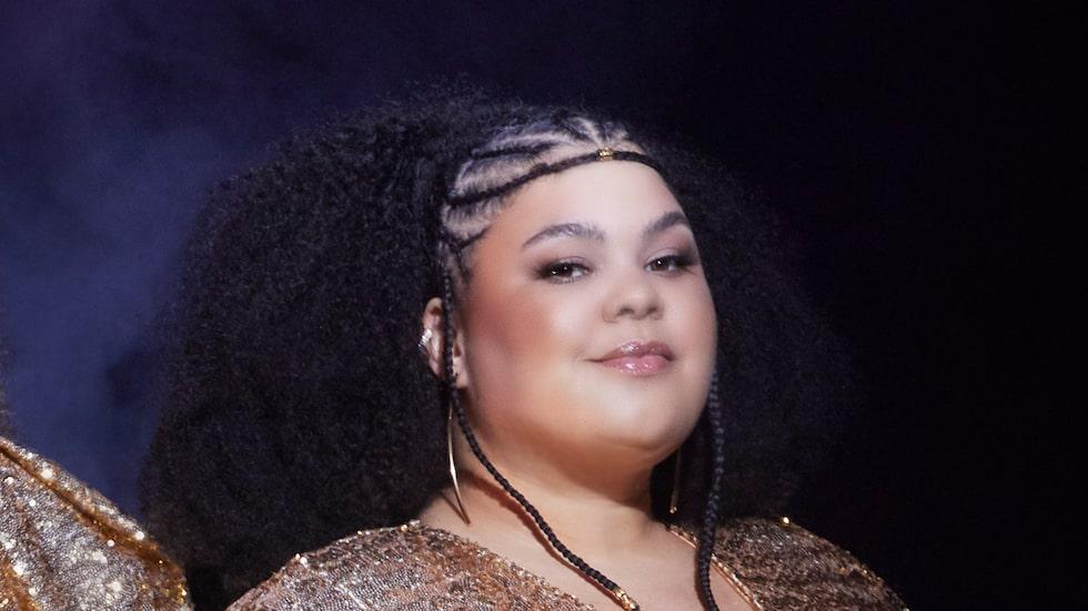 Loulou Lamotte är aktuell med The Mamas, som i år tävlade i Meldodifestivalen för tredje gången, den här gången med låten In the middle.