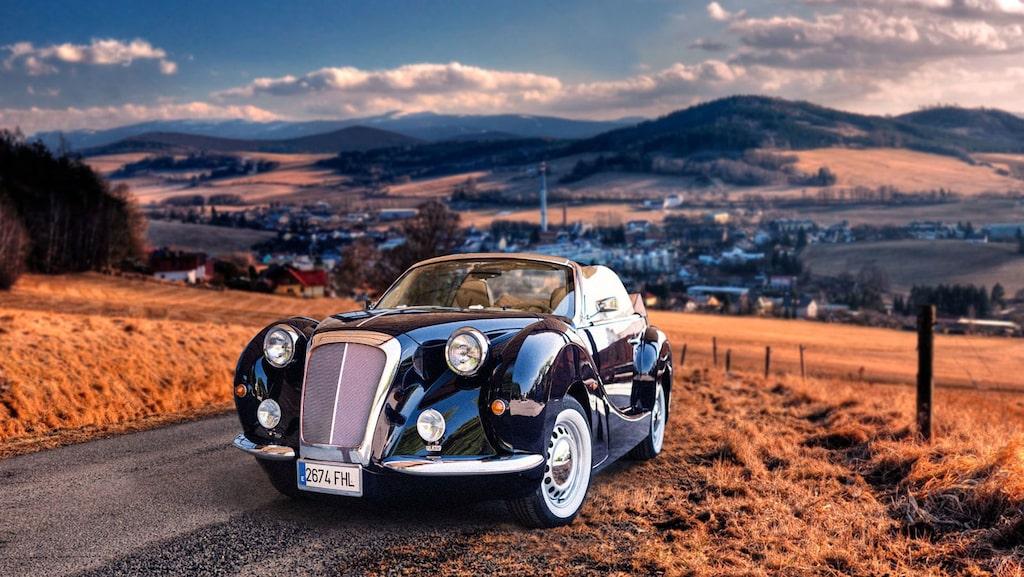 Hurtan Author 4P, baserad på Chrysler PT Cruiser