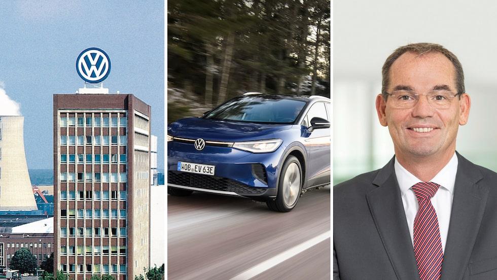 Från Volkswagens huvudkontor i Wolfsburg meddelar Christian Vollmer att företagets mål inte längre är att vara störst i världen.