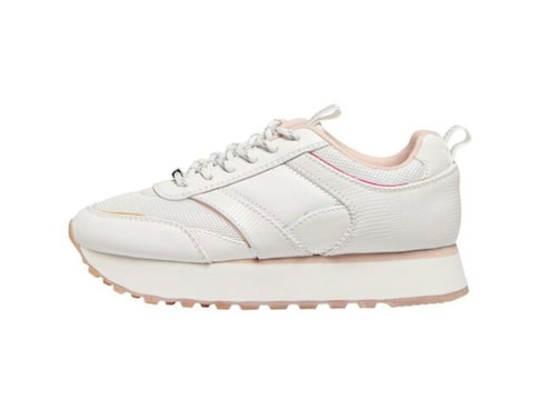 Vita sneakers från Only.