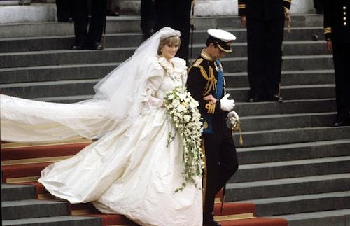 """Diana och Charles gifte sig den 29 juli 1981. Det kommer vi få """"uppleva igen"""" i säsong 4 av The Crown."""