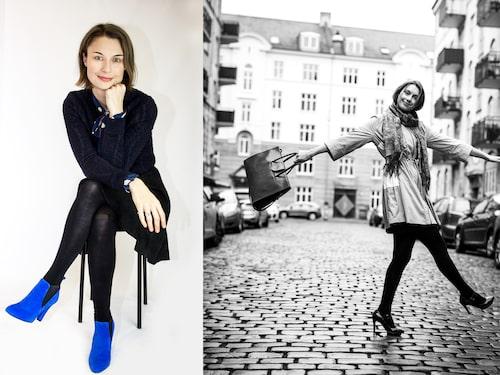 Fredrikke Antonie Schmidt är kvinnan bakom skomärket Roccamore, som skapar supersköna skor med höga klackar.