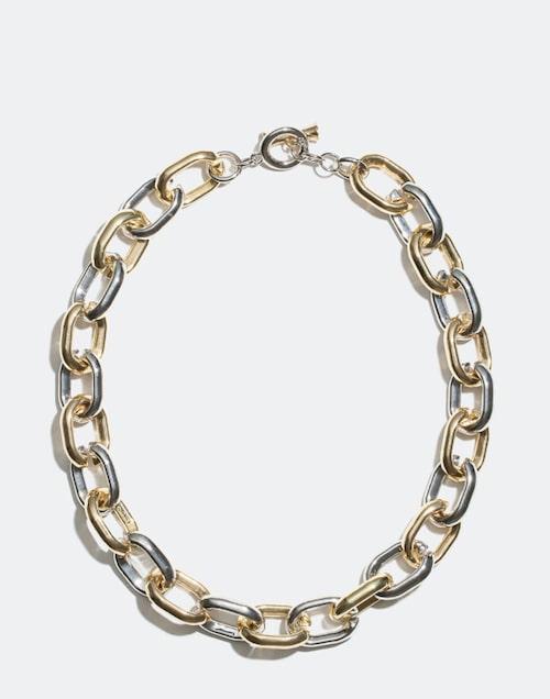 Tvåfärgad halskedja från Glitter.