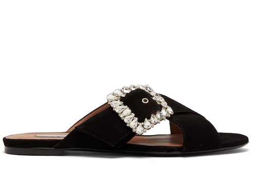 Slip-in-sandaler från Tabitha Simmons. Klicka på bilden och kom direkt till produkten.