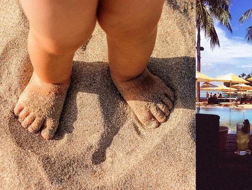 En dag på Tanjong beach club på Sentosa island är fantastisk.