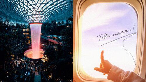 Singapore Changi Airport kan vara en av världens mest välordnade flygplatser och har vunnit flera priser.