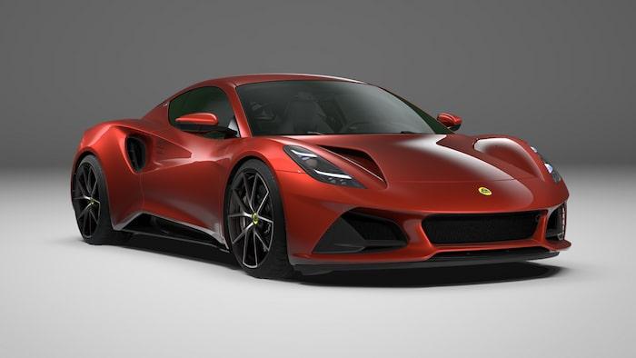 Lotus Emira First Edition 2022 Magma Red.
