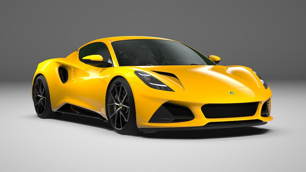Lotus Emira First Edition 2022 Hethel Yellow.